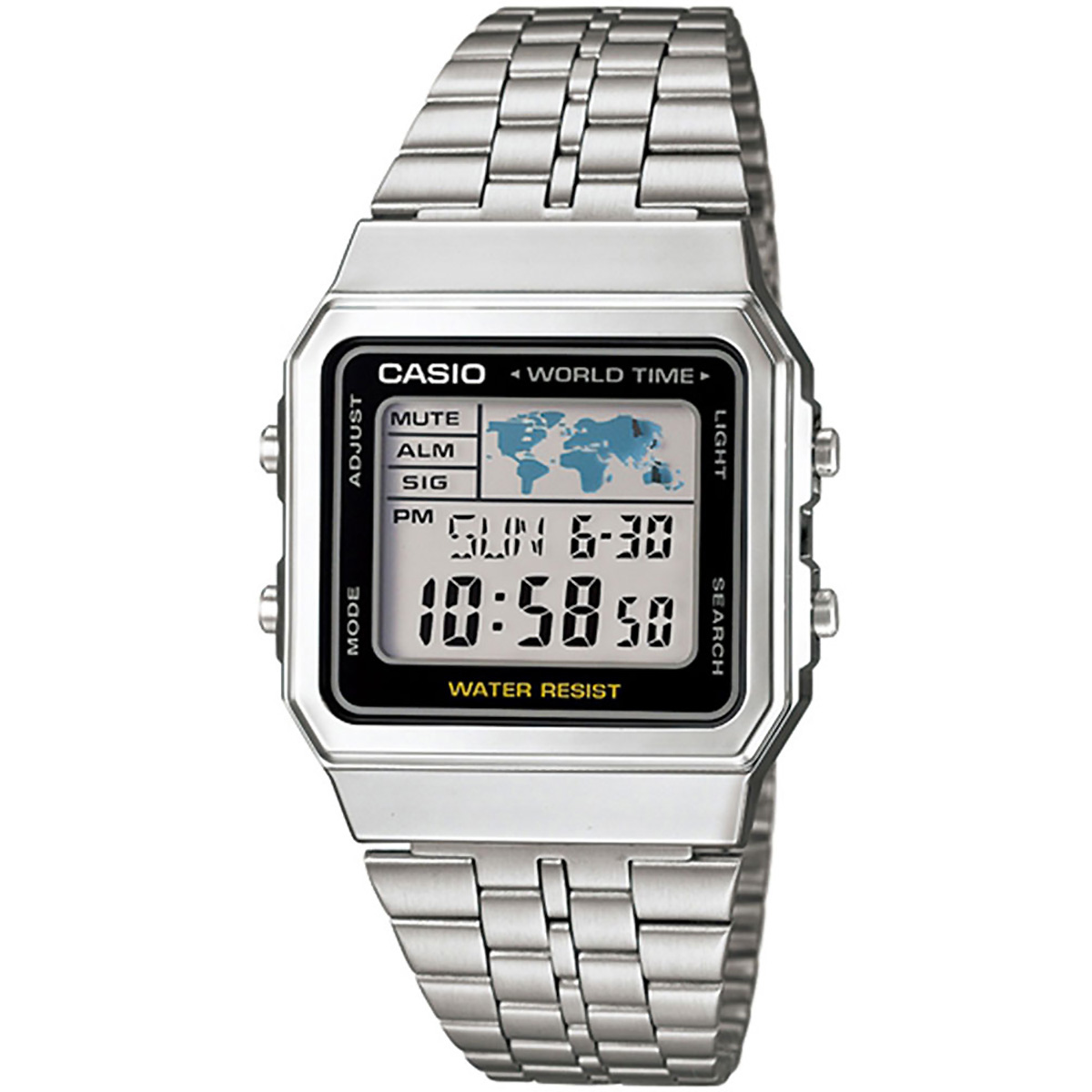 casio retro digitaluhr a500wa 1df armbanduhr digital. Black Bedroom Furniture Sets. Home Design Ideas
