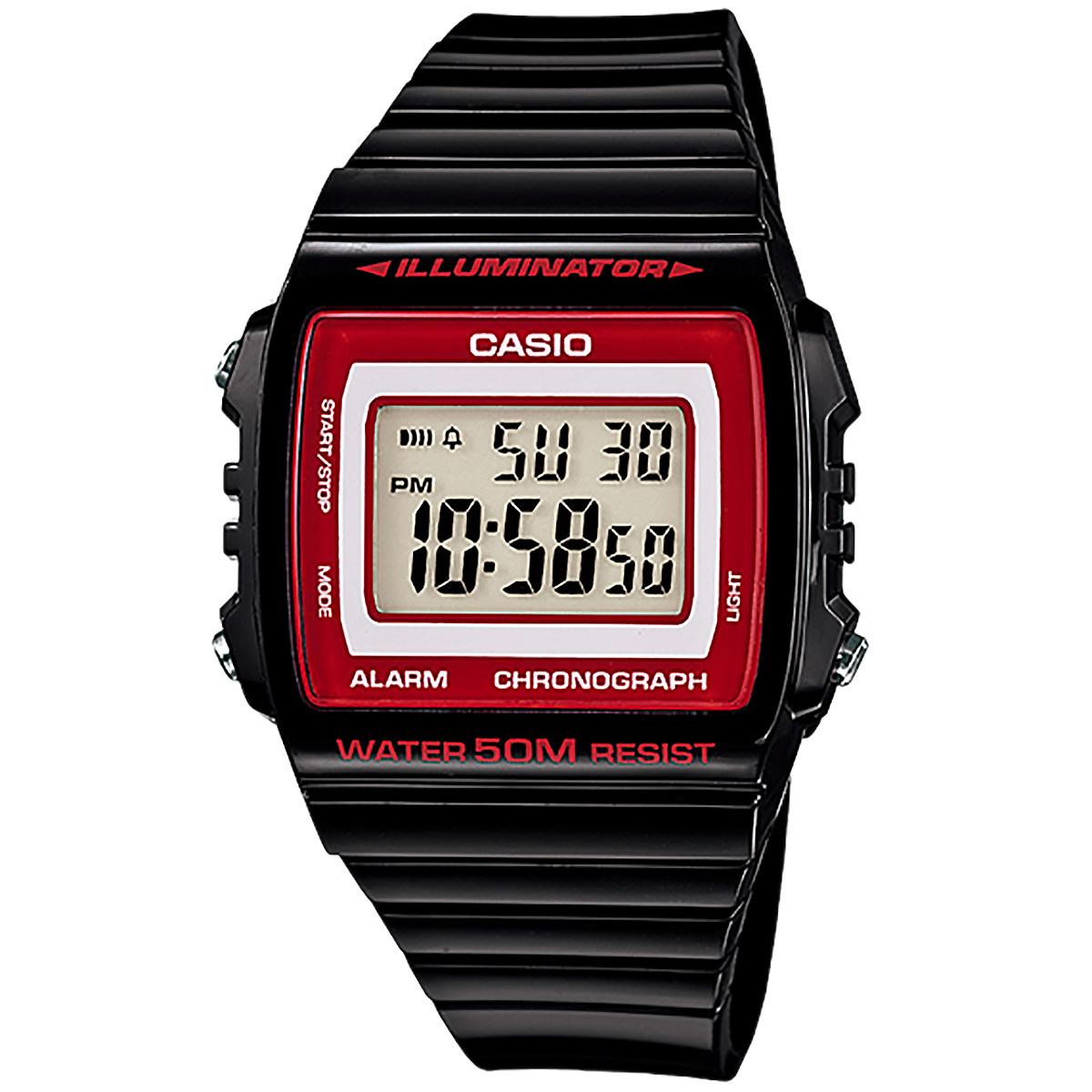 casio uhr w215h1a2 herren damen digitaluhr armbanduhr